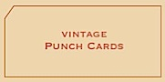 Vintage Punch Cards for Sale